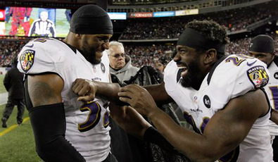 Ray-lewis-ed-reed-miami-hurricanes-super-bowl-winners-san-francisco