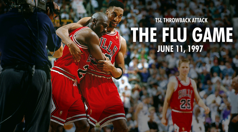 The Shadow League | TSL NBA Finals Throwback Attack: The Flu Game